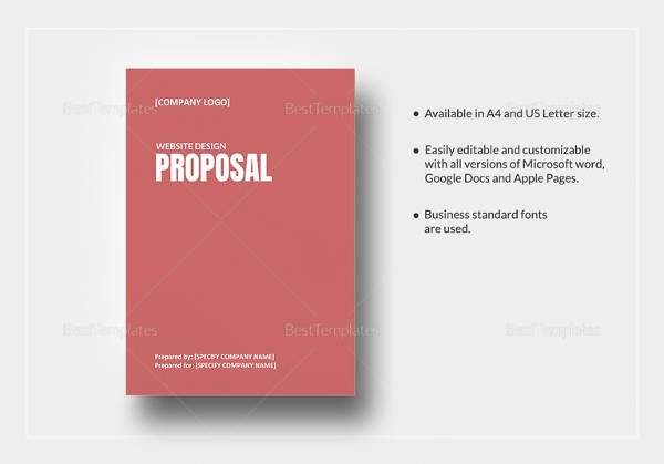 11 Web Design Proposal Templates