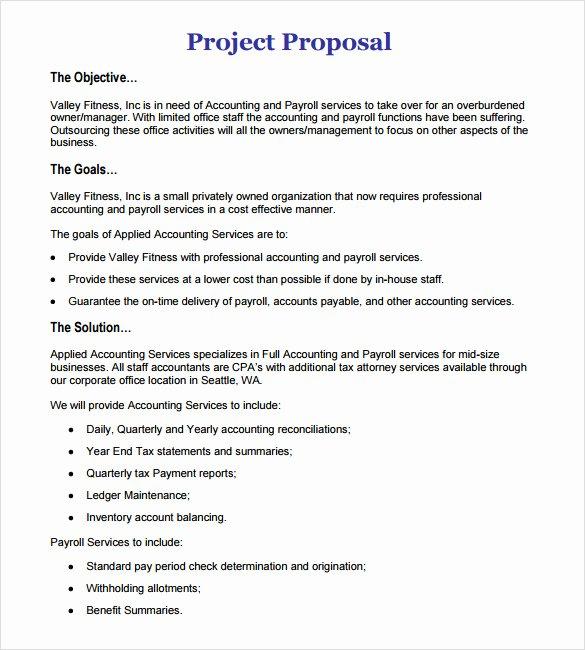 11 Work Proposal Samples