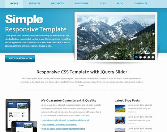 115 Free HTML5 Css3 Website Templatesthe Design Hill