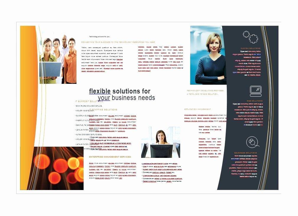 11x17 Brochure Template Word Free Templates Resume