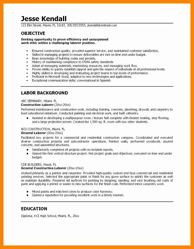 12 13 What to Put Under Objective On Resume