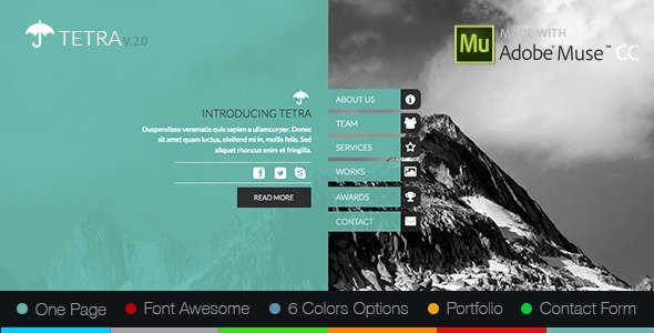 12 adobe muse templates to