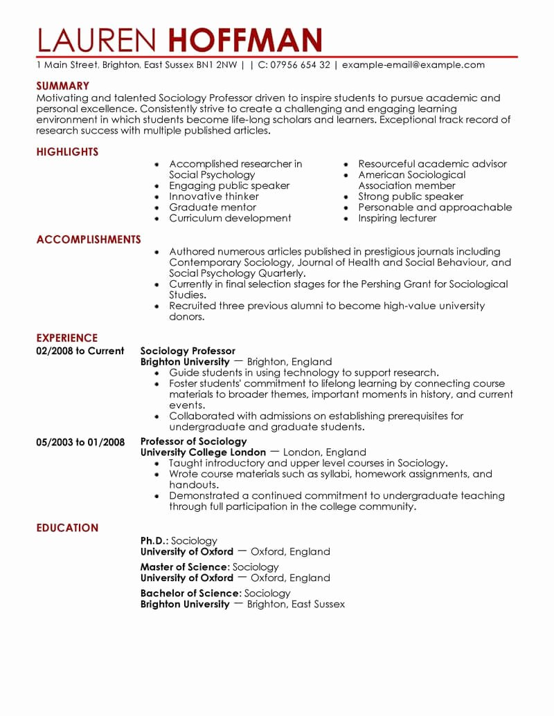 12 Amazing Education Resume Examples