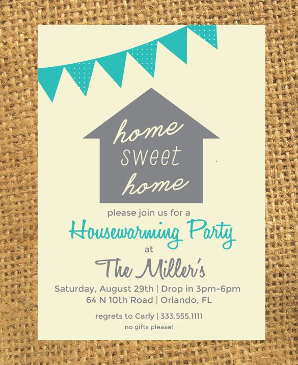 12 Amazing Housewarming Invitation Templates to Download