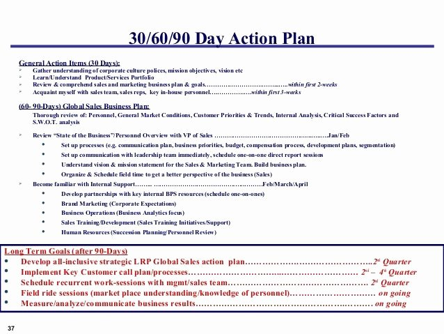 12 Best 30 60 90 Day Plans Images On Pinterest