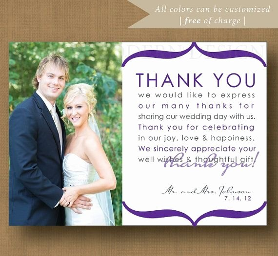12 Best Images About Wedding Thank You Examples On