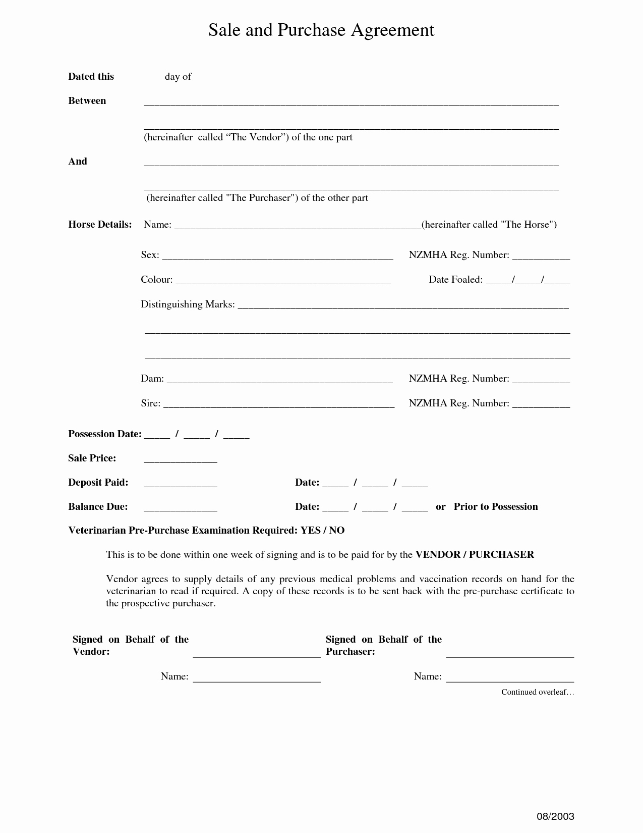 12 Best Of Purchase Sale Agreement form Car