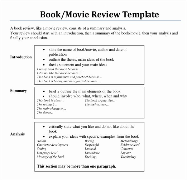 12 Book Writing Templates – Free Sample Example format