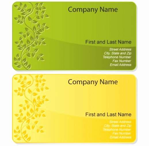 12 Business Card Design Templates Free Business
