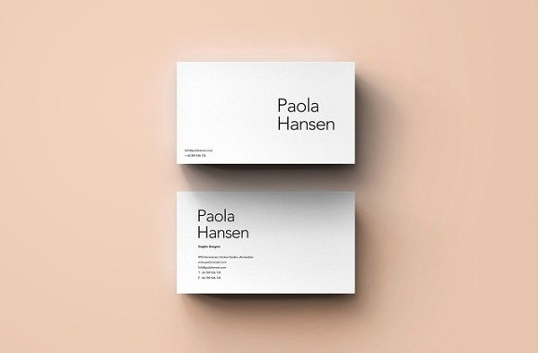 12 Business Card Layout Templates Word Publisher Ai