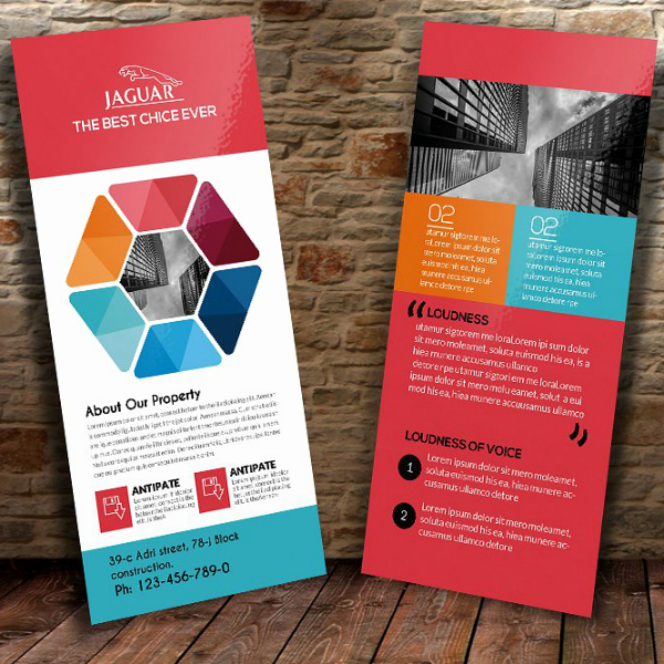12 Business Rack Card Designs & Templates Psd Ai Word