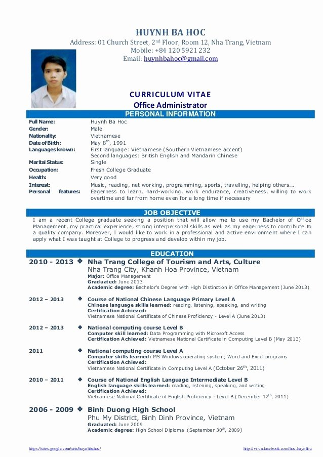 12 College Fresh Graduate Resume Samples Easy Resume