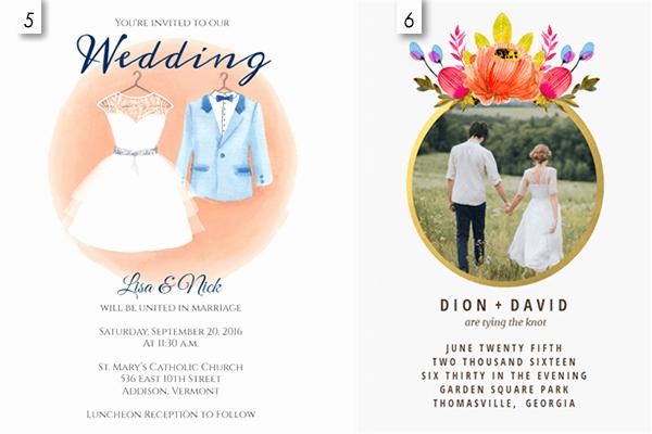 12 Editable Wedding Invitation Templates Free Download