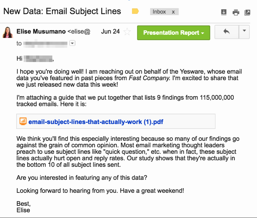 12 Examples Of A Follow Up Email Template to Steal Right