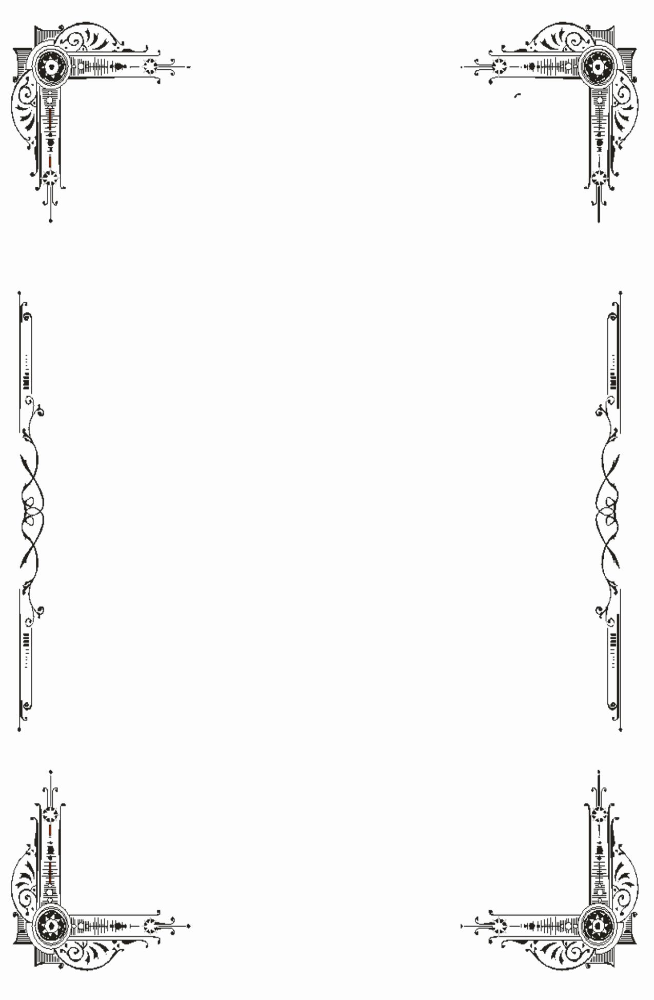 12 Fancy Page Border Designs Decorative Page