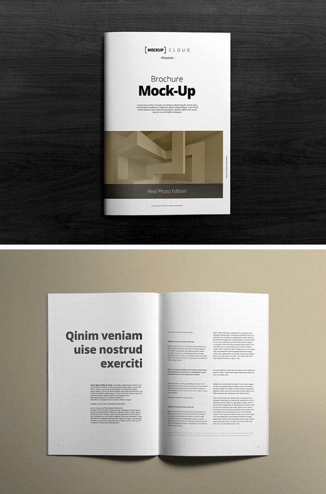 12 Free Brochure Mockup Psd Download