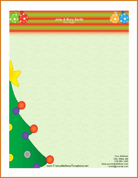 12 Free Christmas Templates for Word