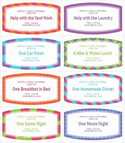 12 Free Sample Coupon Book Templates Printable Samples