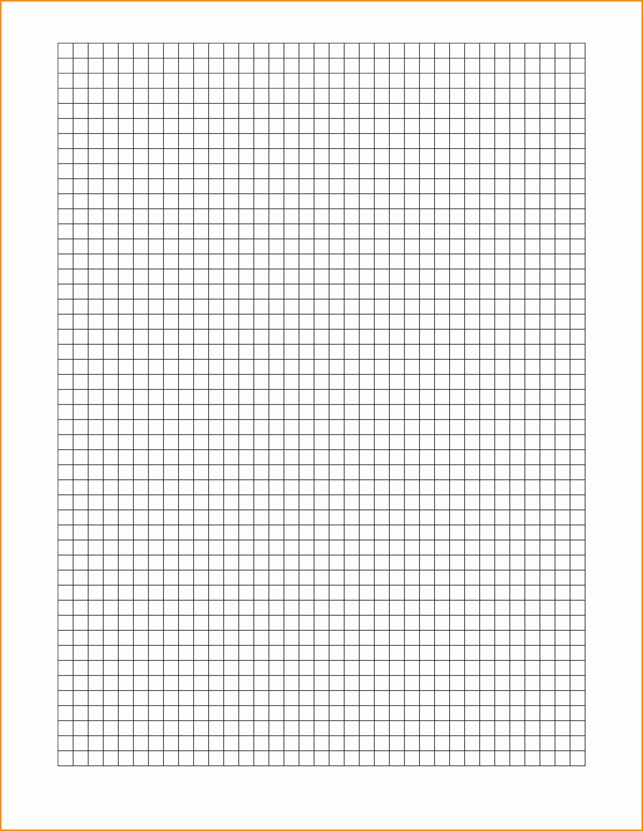 12 Graph Paper Template Word