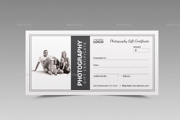 12 Graphy Gift Certificate Templates – Free Sample Example format Download