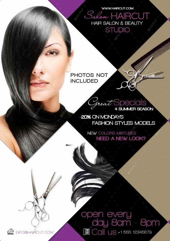 12 Hair Salon Flyer Psd Hair Salon Flyer