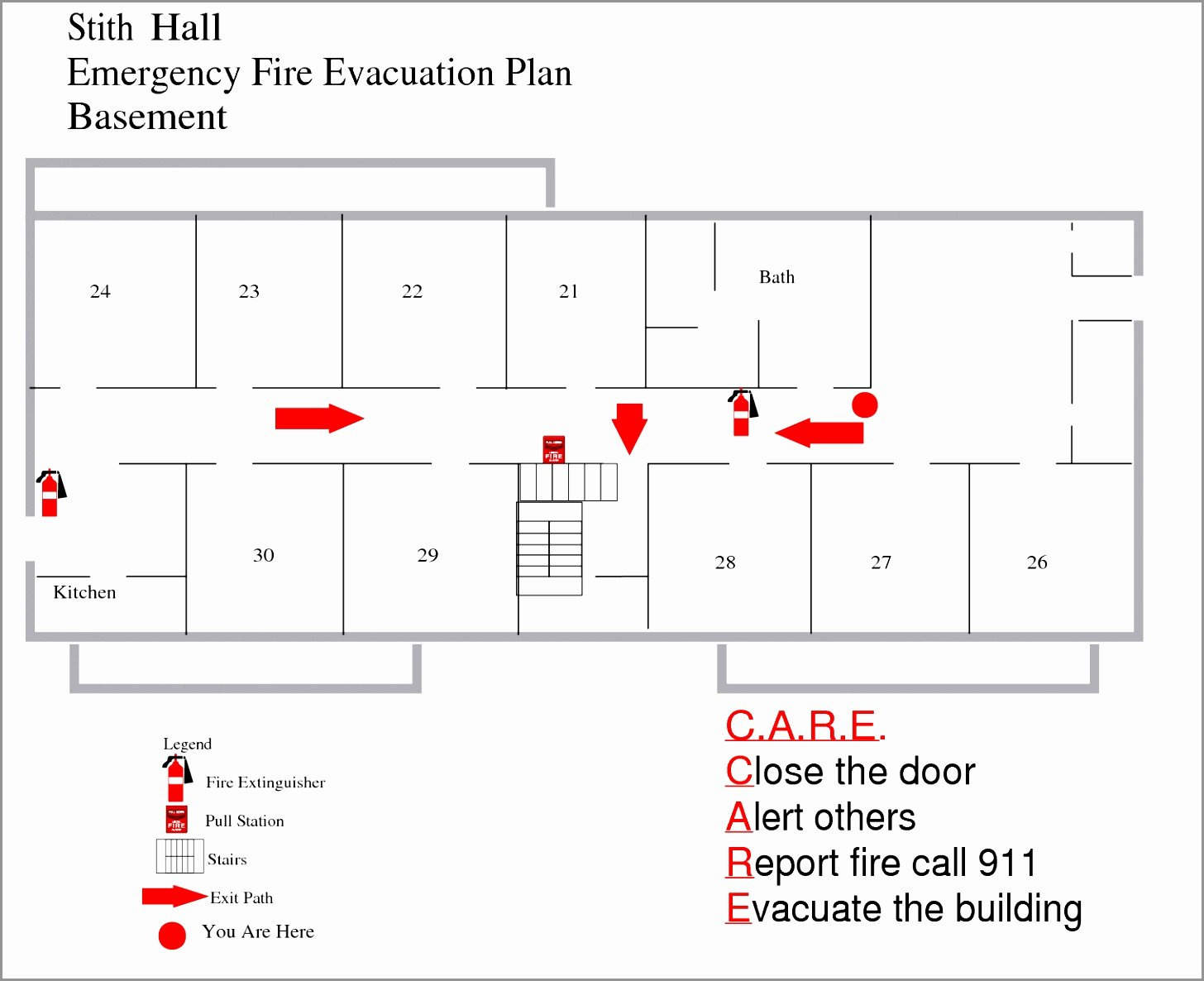 12 Home Fire Evacuation Plan Template Ierde