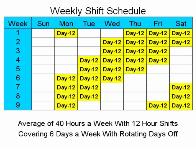 12 Hour Work Schedule to Pin On Pinterest Pinsdaddy