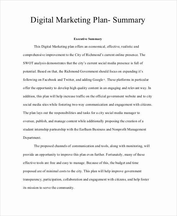 12 Marketing Plan Samples