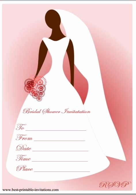 12 Mesmerizing Free Bridal Shower Flyer Templates Demplates