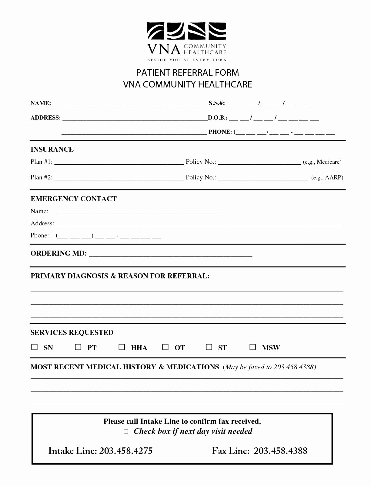 patient referral form template