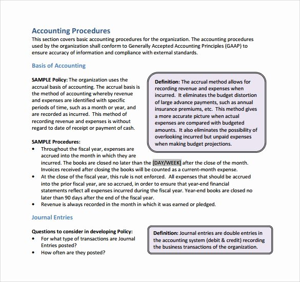 12 Policy and Procedure Templates to Download