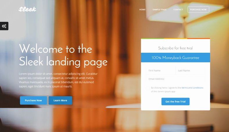 12 Popular Bootstrap Landing Page Templates