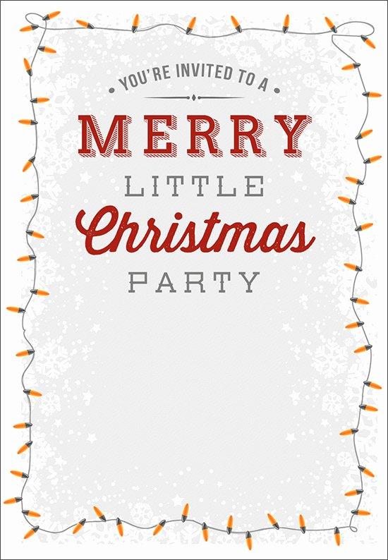 12 Printable Christmas Invitation Templates