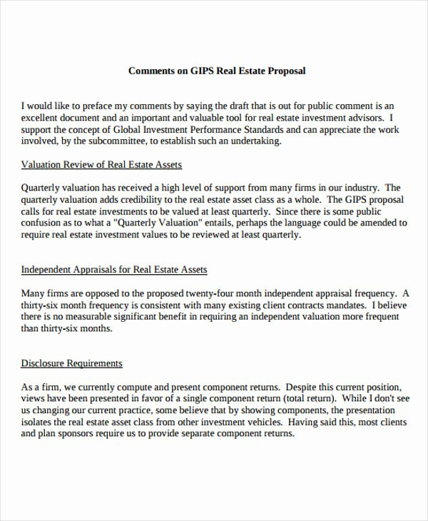 12 Real Estate Business Proposal Templates Free Sample