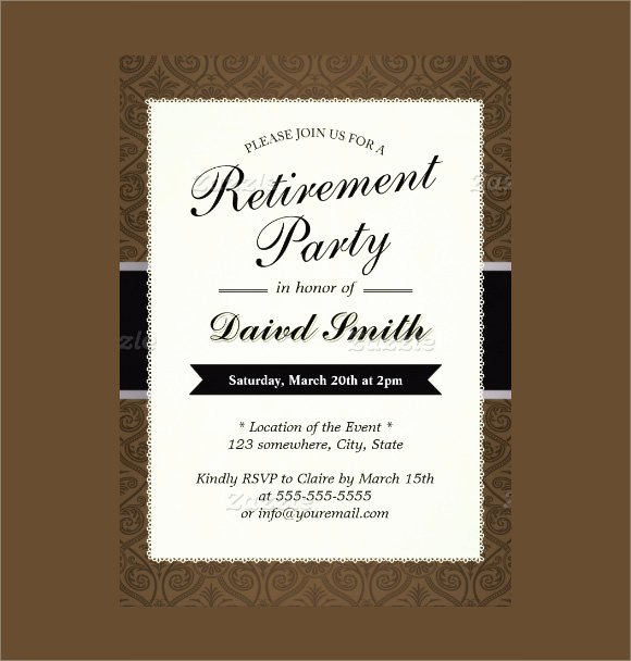12 Retirement Party Invitations