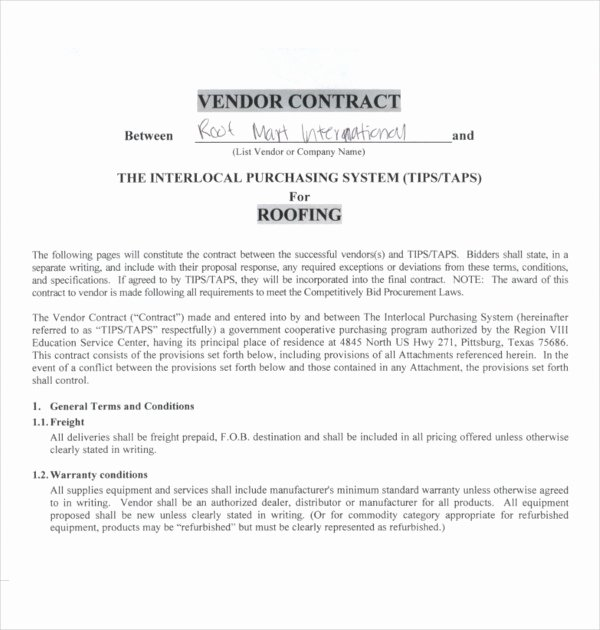 12 Roofing Contract Templates