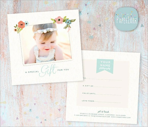 12 Sample attractive Graphy Gift Certificate