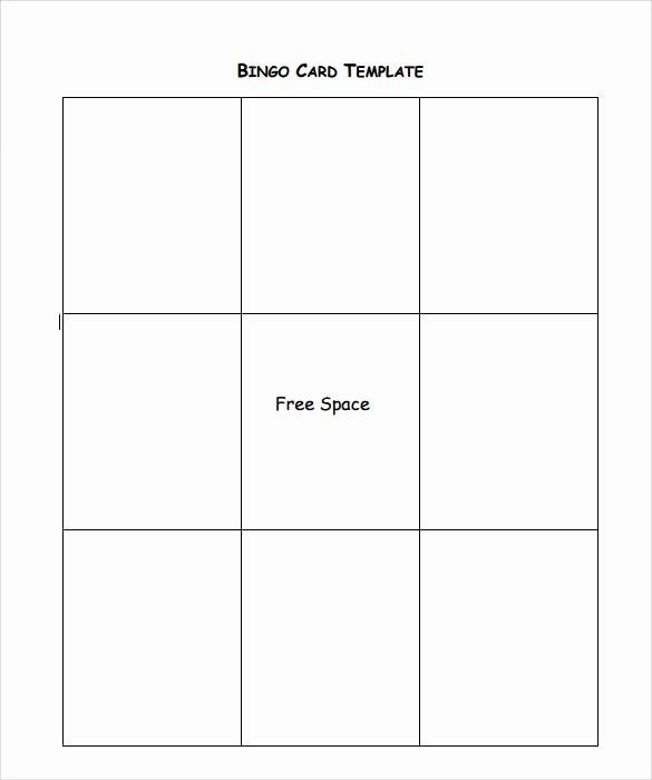 12 Sample Bingo Cards