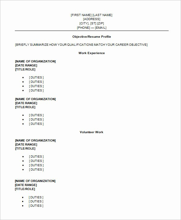 12 Sample High School Resume Templates Pdf Doc
