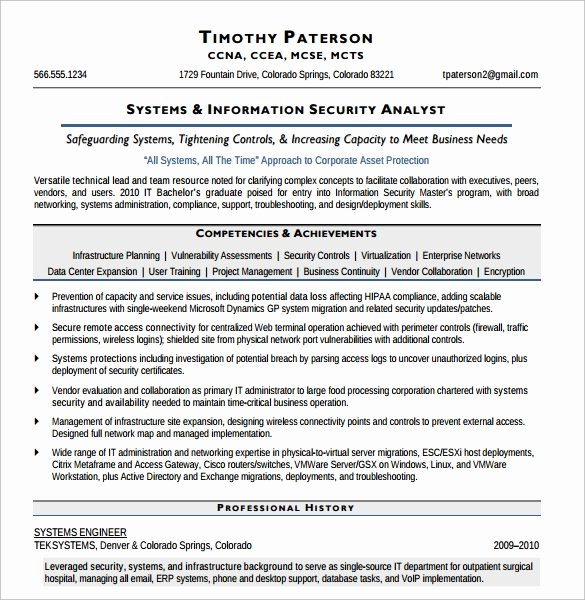 12 Security Resume Templates