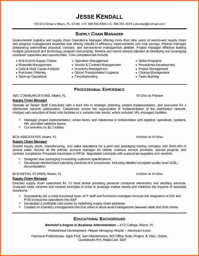 12 Warehouse and Logistics Cv Bud Template Letter