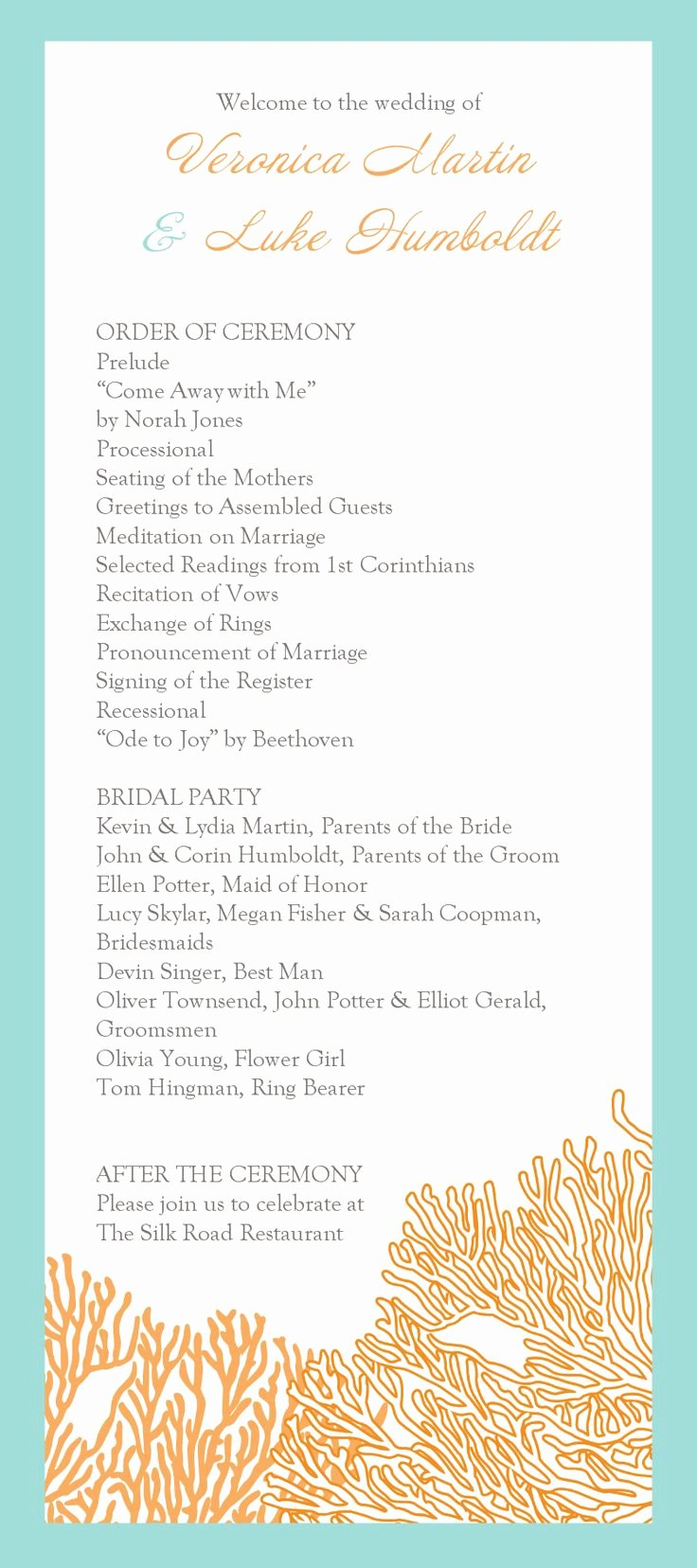 13 Best Images About Wedding Programs On Pinterest