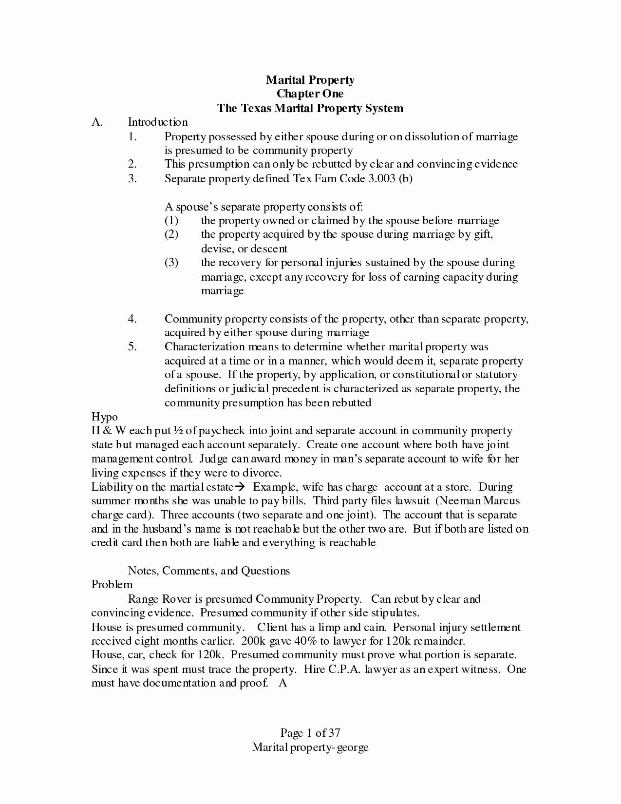 13 Best Of Property Settlement Agreement Letter