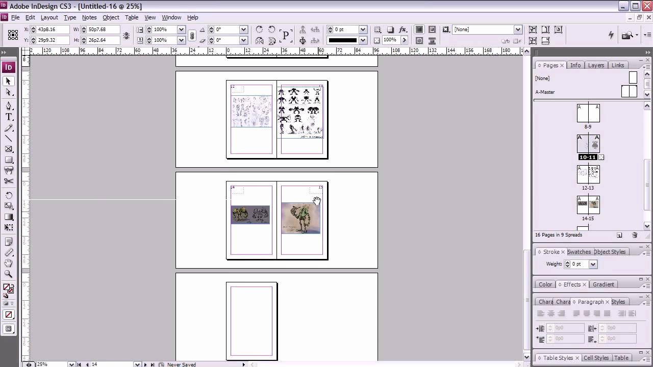 13 Best S Of Print Booklet Layout Template Book