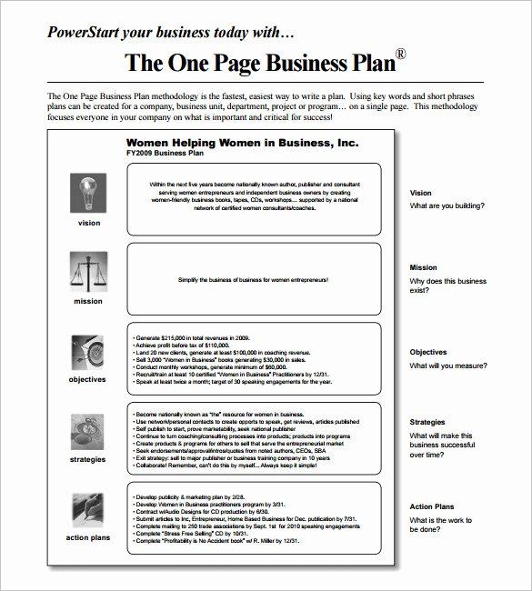 13 Business Action Plan Template Doc Pdf