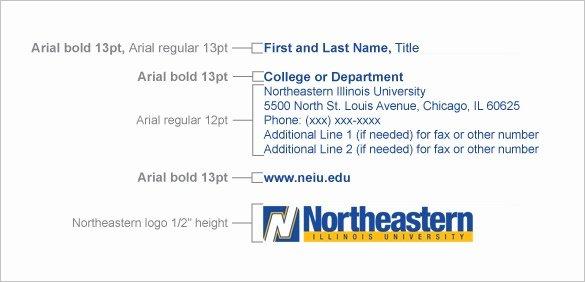 13 College Student Email Signatures
