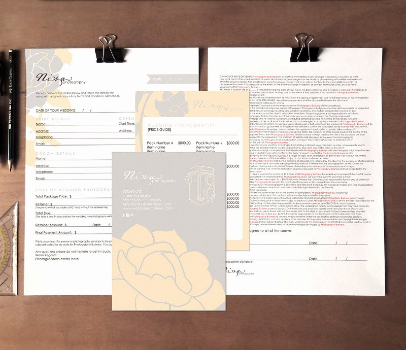 13 Contract form Templates