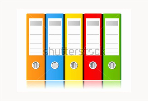 13 File Folder Label Templates Free Sample Example