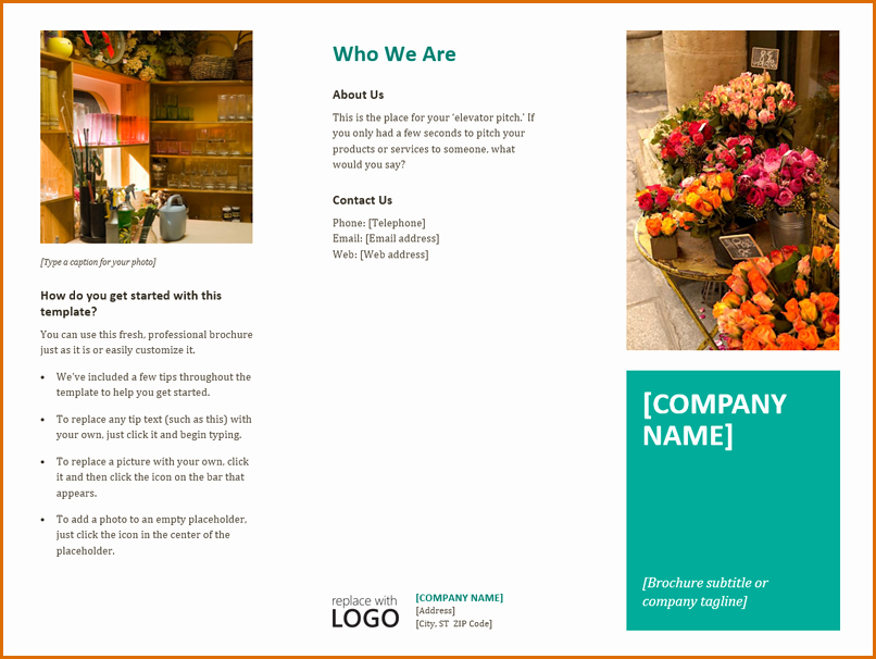 13 Free Brochure Templates for Microsoft Word