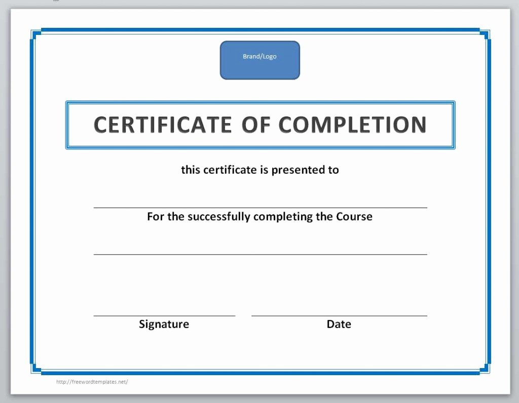 13 Free Certificate Templates for Word